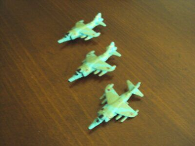 Military Micro Machines F1-Mirage Aircraft Lot of 3