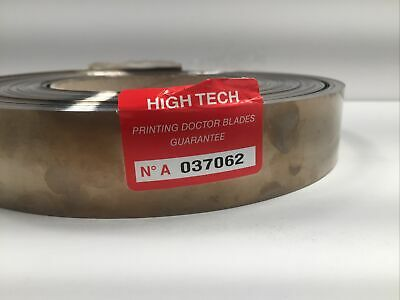 Open Box High Tech Printing Doctor Blades - No A 037062 APPROX 45mm wide