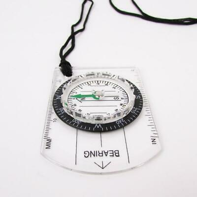 Scouts Military Compass Scale Ruler Baseplate Mini For Camping Hiking Outdoor
