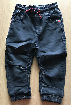 George Boys Black Stretch Jeans. Age 1 1/2 - 2 Years