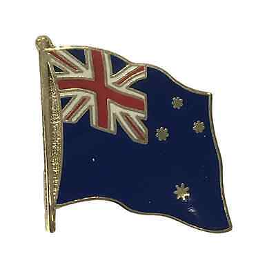 All Blacks Silver Fern Flag 25Mm Pin Button Badge Lapel Pin New Zealand Rugby