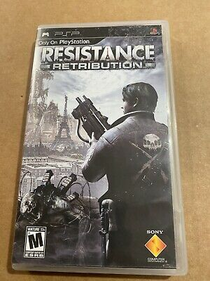 Sony PSP PlayStation Portable Resistance Retribution Complete