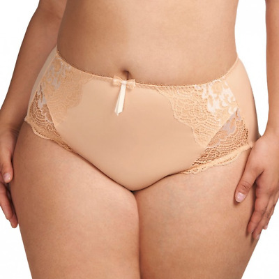 Elomi Rita Brief Passion Pink Lace Size M 12 14 Knickers Underwear 8015 New