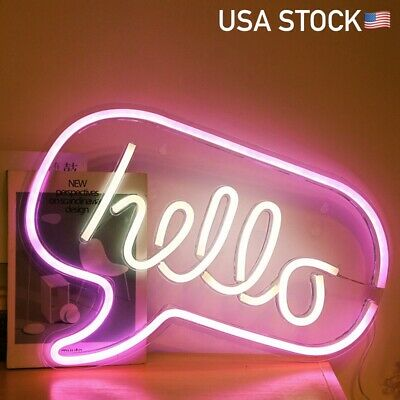 """Hello There Hell Here With On//Off Switch For /""""O/"""" /""""T/"""" Acrylic Neon Sign 14/""""x10/"""""""
