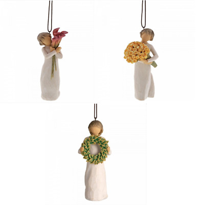 SALE Willow Tree Hanging Ornament Figurines - Gift Boxed with Sentiment
