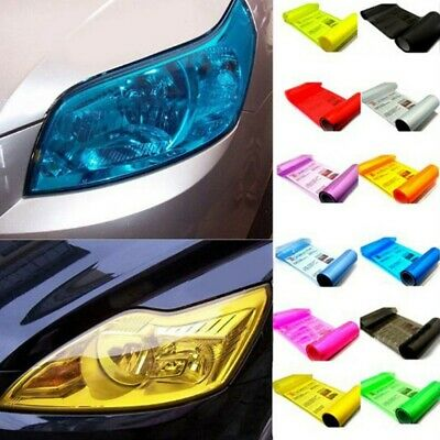 Car Auto Tint Fog Light Headlight Vinyl Film Stickers 13 Colors Taillights Wrap