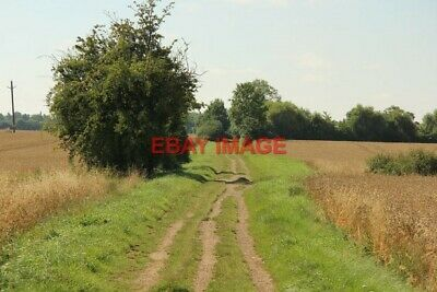 Photo  Gnr Trackbed Course Of The Former Great Northern Railway From Bourne Towa