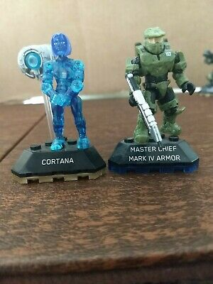 Custom Cast Clear Green Cortana Compatible with Halo Mega Construx Free Shipping