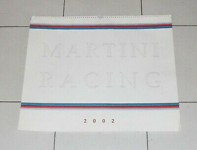 Calendario MARTINI RACING 2002 Rally Ford Escort Focus WRC Rallie Sainz Moya