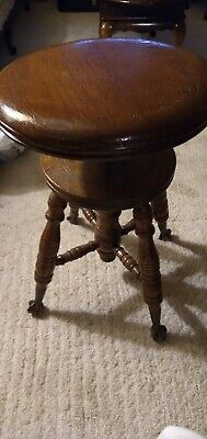 Victorian piano stool by Meridian?