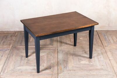 Copper Top Cafe Table Industrial Style Bar  Restaurant Table 120X70 Cm Table
