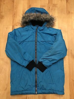 Blue Zoo Boys Light Blue Hooded Jacket Age 12-13 Years Excellent Condition