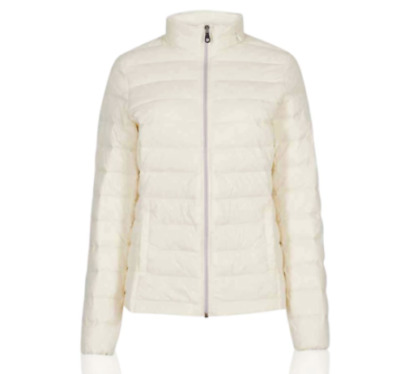 OR4.129 Ex Marks and Spencer Knitted Lightweight Coat Jacket Size 16