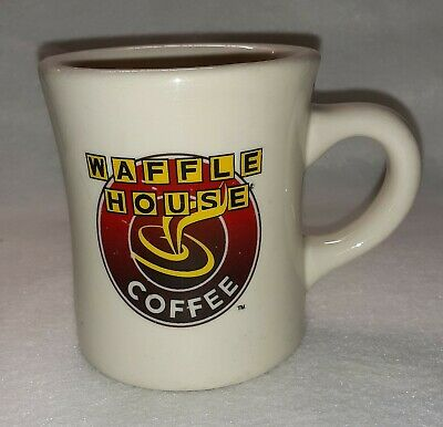 Waffle House Restaurant Style Heavy Duty Coffee Mug/Cup Tuxton Pre-owned Used