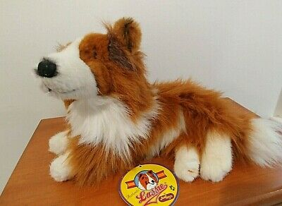 "Authentic 1994 ""LASSIE"" JUST TOYS Stuffed Dog"
