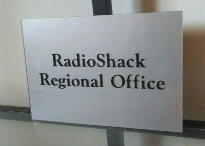 Radio Shack Office Suite Sign
