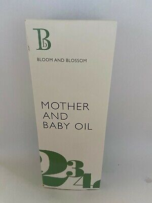 Bloom And Blossom Mother And Baby Oil 100ml NATURALLLY DERIVED NEW