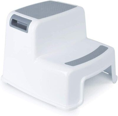 Rainberg 2 Step Stool for Kids, Sturdy Double Toddlers,...
