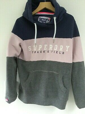 Superdry Girls Hooded Sweatshirt Age 8 Years