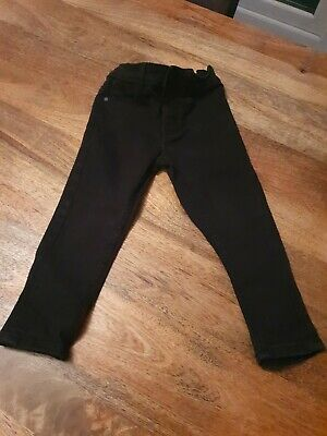 Boys Next Skinny Black Jeans Age 3 Years