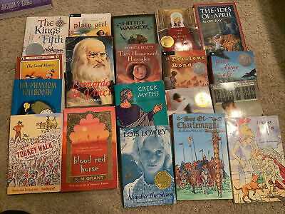 Lot of 20 Chapter Books for Youth Reader Young Adult Children RANDOM