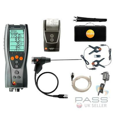 Testo 327-1 Flue Gas Analyser Advanced Kit + FREE Testo 830-T2 IR Thermometer
