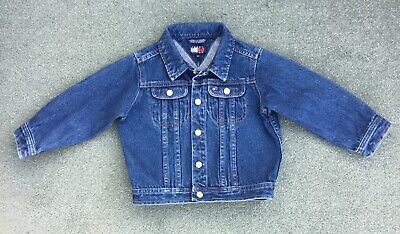 TOMMY HILFIGER Boys Blue Denim Jacket SIZE 3T - AGE 3 YEARS ***FAB***