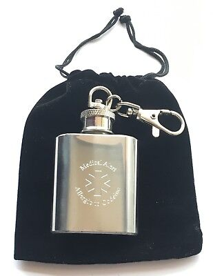 Allergico A Codeine Incisione Personalizzata Medico Alert Sos 28.4ml Flask Key