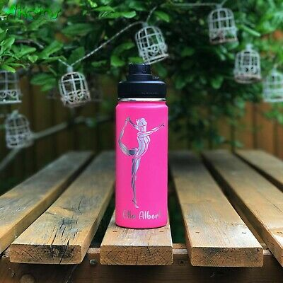 Laser Engraved Water Bottle - Twist Sip - Personalised Flask - Insulated - Sport