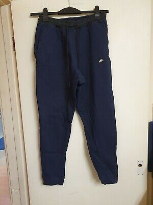 Mens blue slim leg Tracksuit Bottoms By Nike size medium