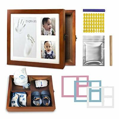 Baby Handprint and Footprint kit with Keepsake Memory Box Baby Shower Gifts Nurs