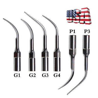 5*Dental Ultrasonic Perio Scaler Tips Scaling tip Fit EMS WOODPECKER Handpiece