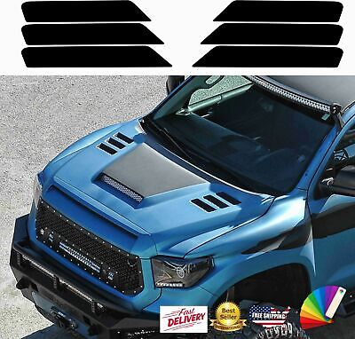Hood vent vinyl decals insert stickers