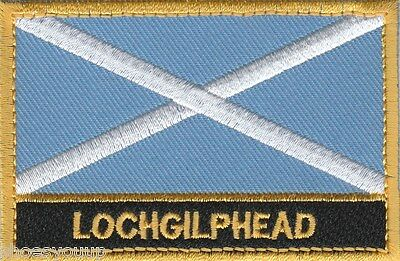 Lochgilphead Scotland Town & City Embroidered Sew on Patch Badge