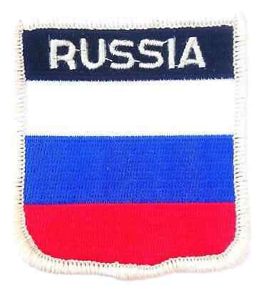 Russia Embroidered Patch
