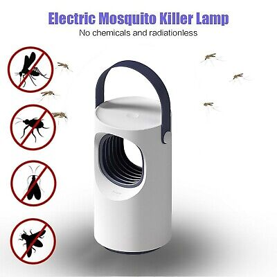 USB Photocatalyst Mosquito Killer Lamp Insect Fly Bug Trap Catcher LED Lamp Elec