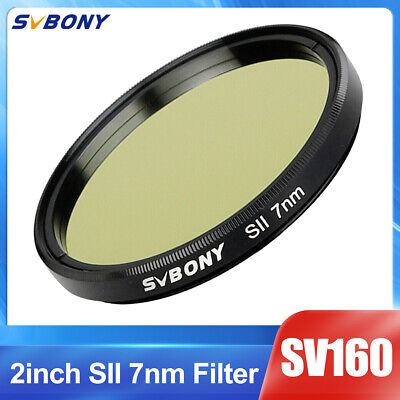 """SVBONY 2"""" Filter SII-CCD 7nm Narrow-Band Filter for Astro Telescope & Binocular"""