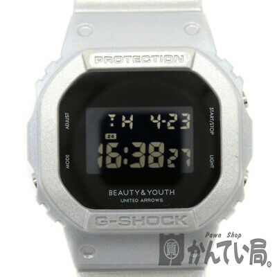 Battery Replaced Casio Dw-5600Vt G-Shock Watch Digital Silver Gray Mens Casual