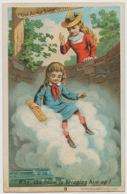 Acme Soap - Hardy & Co. Choice Groceries, Manchester, NH - Victorian Trade Card