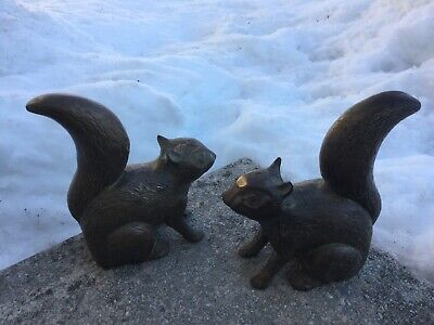Large Size Brass Squirrels