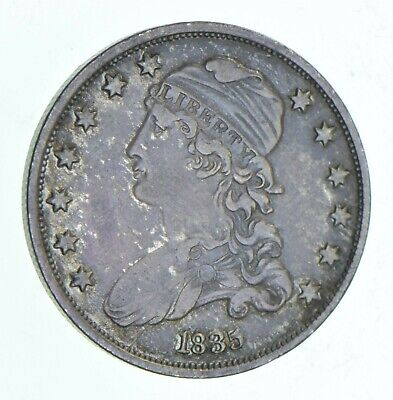 1835 Capped Bust Quarter *6070