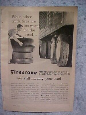 1962 Firestone Truck Tires Ad