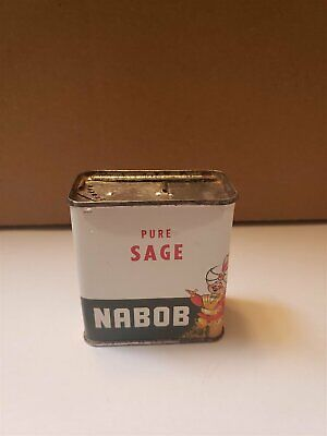 Nabob Foods Sage Tin Can