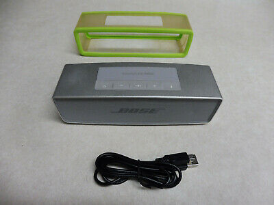 Bose SoundLink Mini II Bluetooth Speaker System, Silver - Excellent Condition