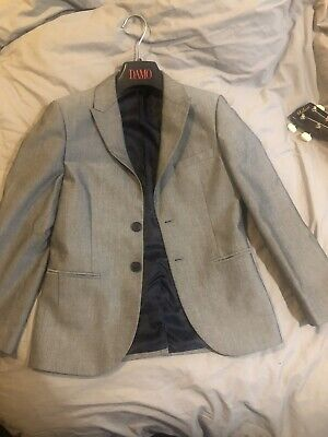 Next Age 10 Years Charcoal Grey Suit Jacket