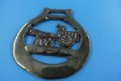 Vintage Horse Harness Brass Tack Saddle Horse Carriage Cart