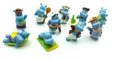 KINDER SURPRISE HAPPY HIPPOS CRUISE SET 1992 FIGURINE FROM COLLECTION Rare