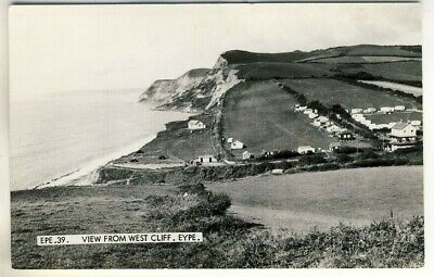 A Frith's Real Photo Post Card of View From West Cliff, Eype. Dorset.