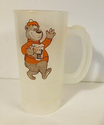 Circa 1990 A&W Restaurants Super 22 large plastic mug