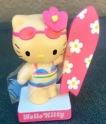 Rare Sanrio 2005 Hello Kitty Boardfest Huntington Beach Bobble Head